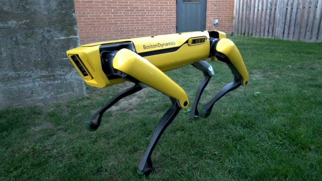 cão-robô da Boston Dynamics