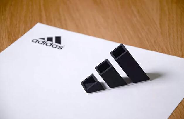 Designer japonês transforma logos icônicos em itens do nosso dia a dia - adidas